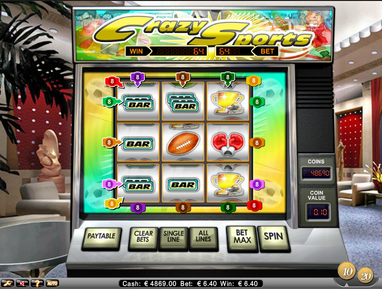 crazy sports slot review