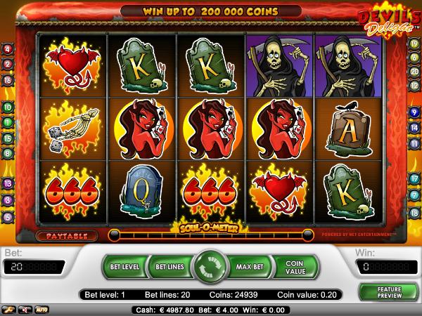 devil's delight slot review