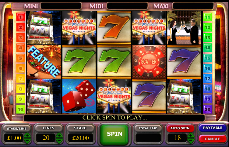 fabulous vegas nights slot review