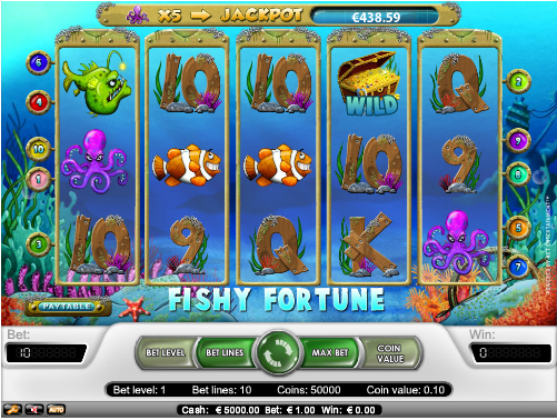 fishy fortune slot review