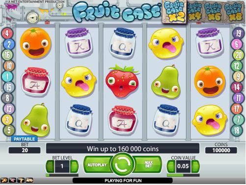 fruit case slot review