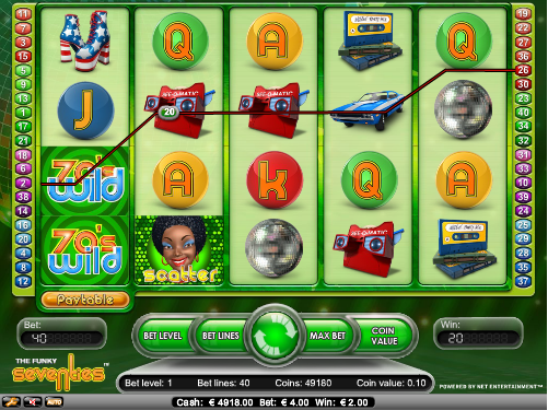 funky 70s slot review