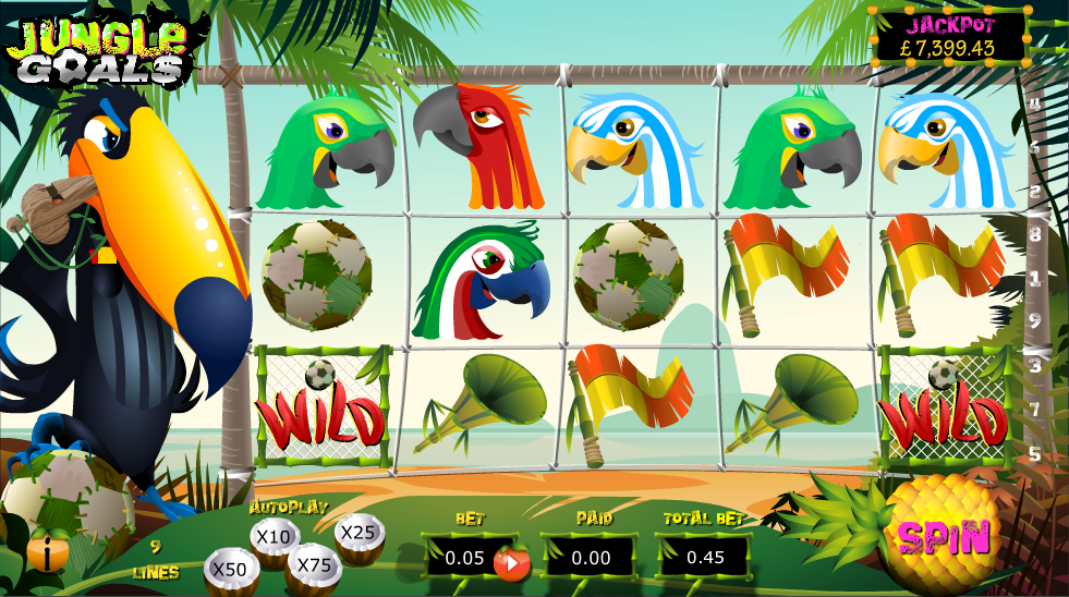 Spiele Jungle Goals - Video Slots Online