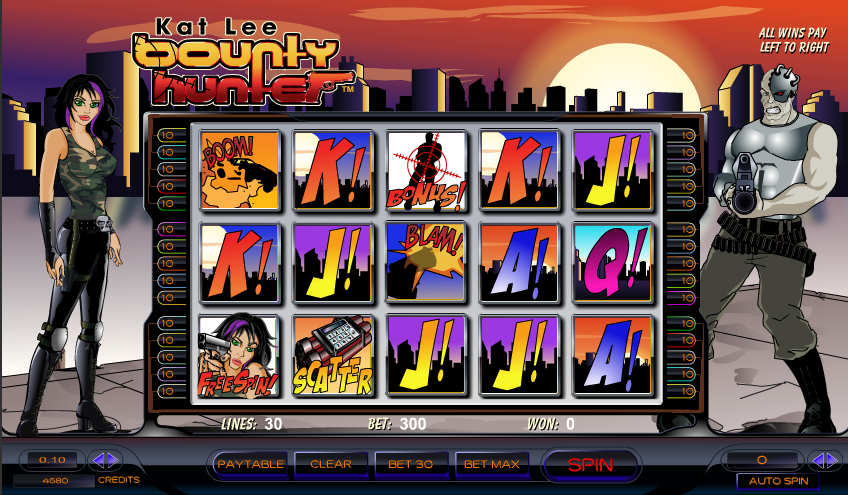 kat lee bounty hunter slot review