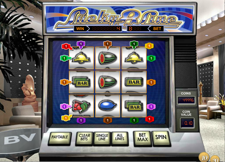 Lucky 8 Line Slot Machine - Review and Free Online Game