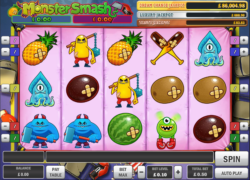 monster smash screenshot