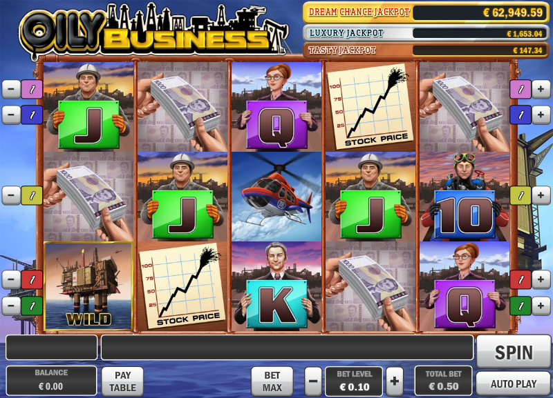 oily business slot review