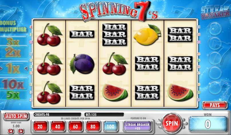 spinning 7s slot review