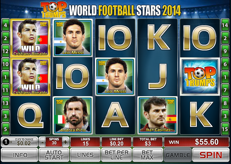 world football stars screenshot