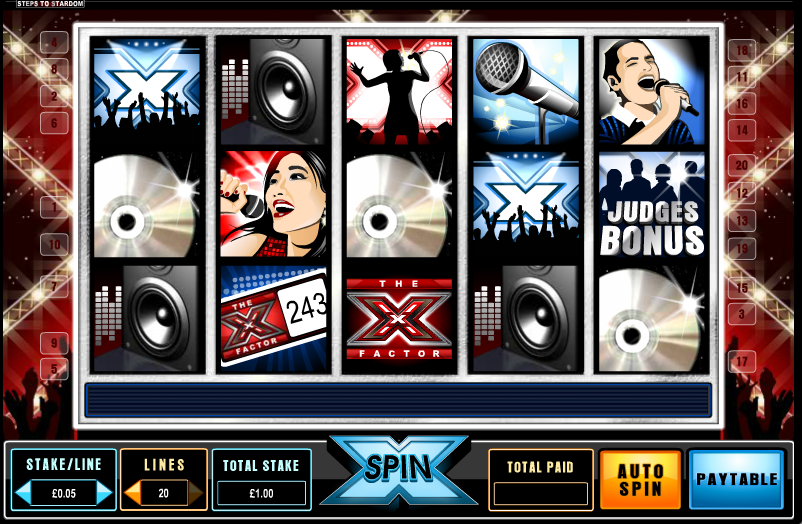 Slingo X Factor Casino Game - Find Out Where to Play Online