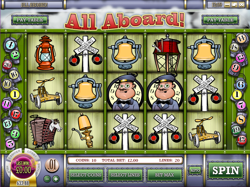 all aboard slot review