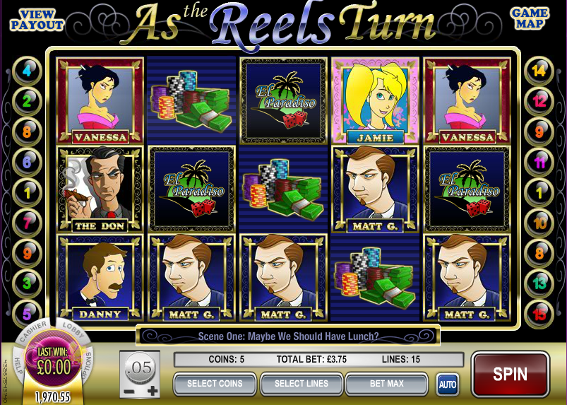 as the reels turn 3 slot review
