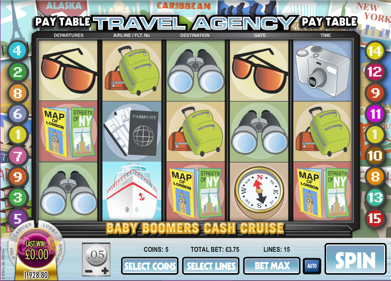 baby boomers cash cruise slot review