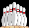 bowled over pins