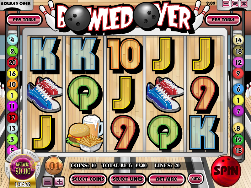 bowled over slot review