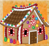 candy cottage house