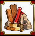 castle builder materials