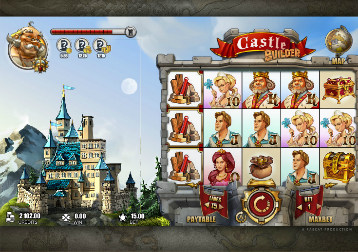 Up to £100 Bonus! Play Castle Builder Slot at Mr Green
