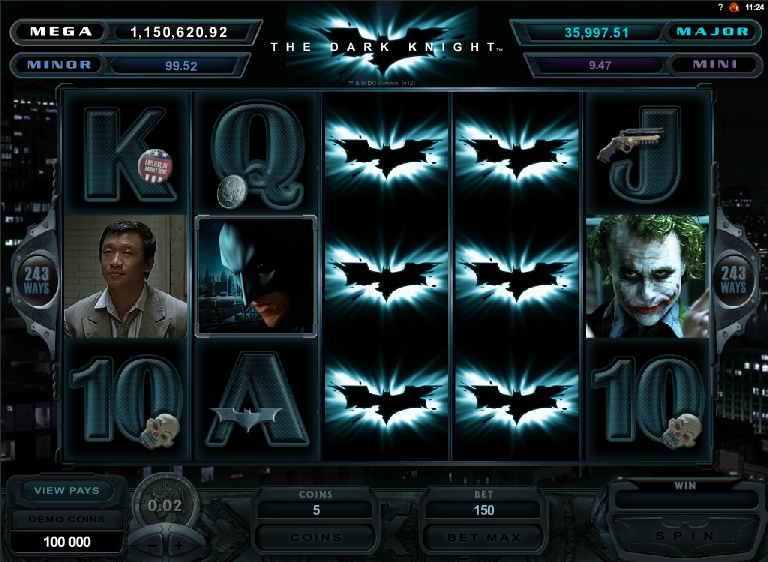 dark knight slot review