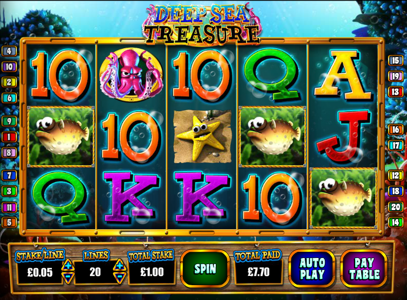 Ocean Treasure Slots - Free Play & Real Money Casino Slots