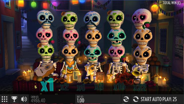 esqueleto explosivo slot review