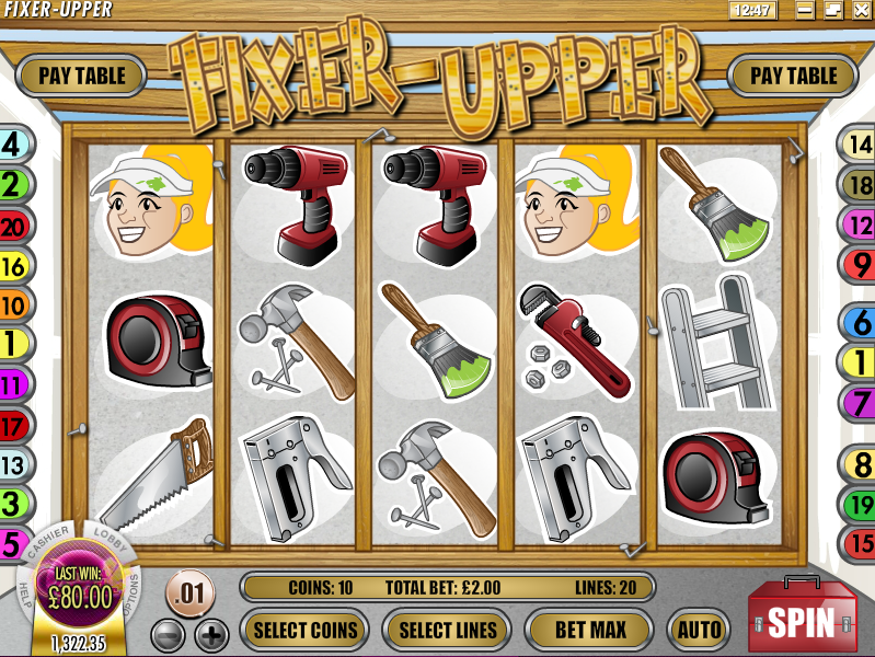 fixer upper slot review