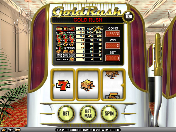 Gold Rush Slot - Play BetConstruct Slots Online for Free
