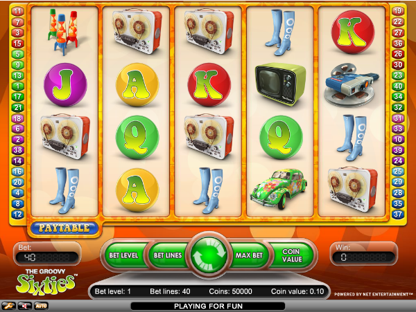 groovy 60s slot review