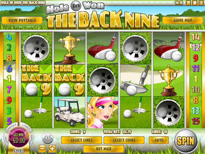 hole in won back nine slot review
