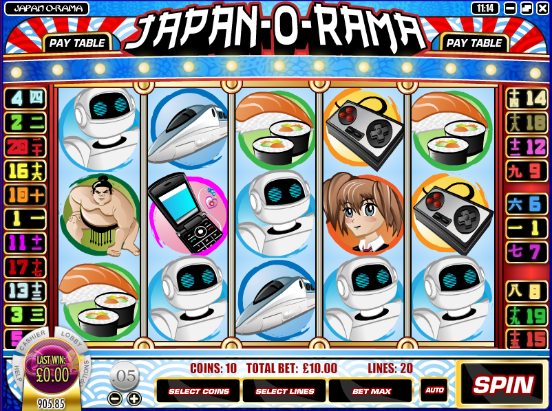 japan-o-rama slot review