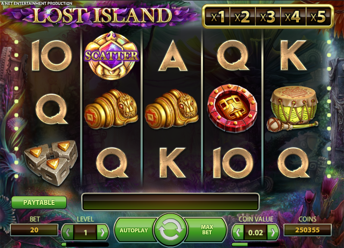 lost island slot review