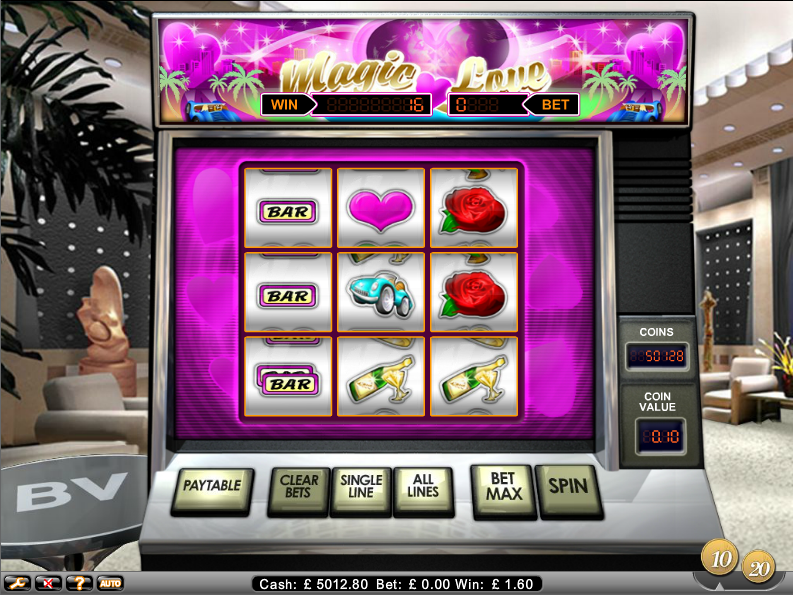 magic love slot review