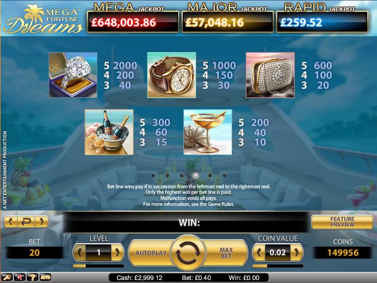 casino of dreams welcome bonus