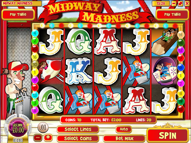 midway madness slot review
