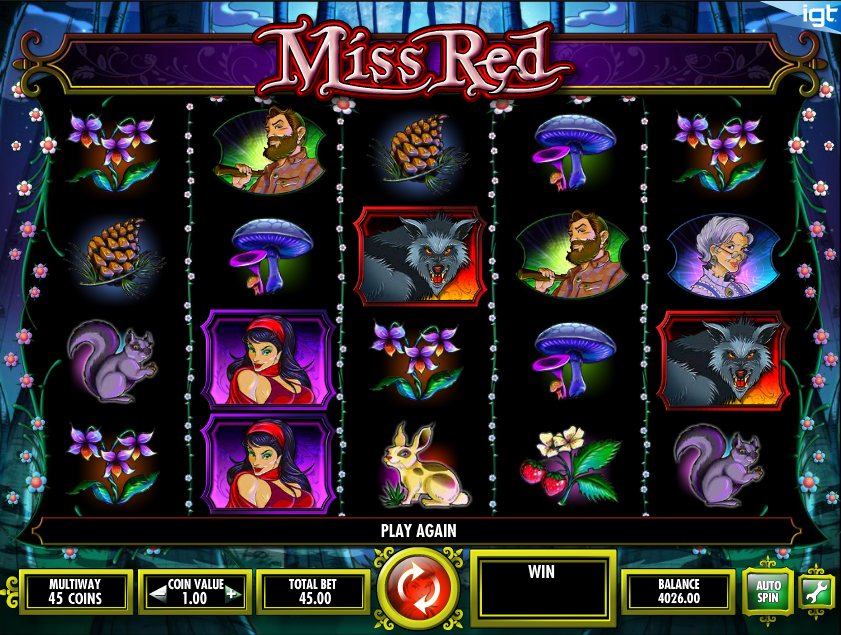 miss red slot review
