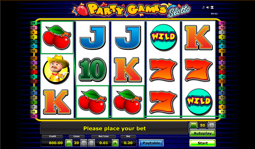 Party Games Slotto - Free Play & Real Money Casino Online
