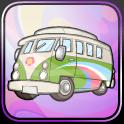 psychedelic sixties bus