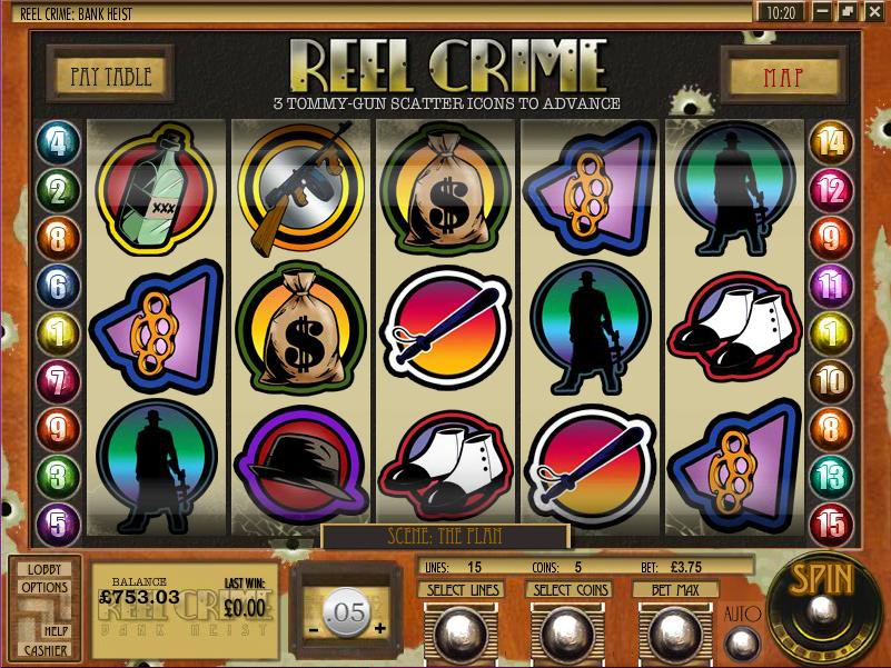 reel crime slot review