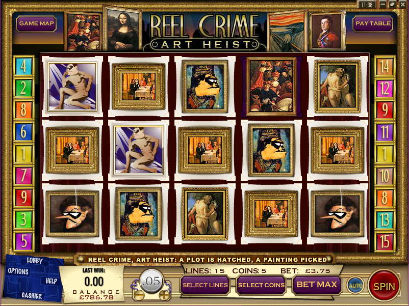 reel crime slot review