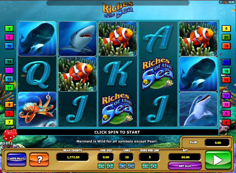riches of the sea slot review