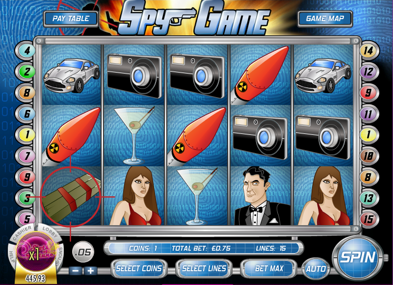 spy game screenshot