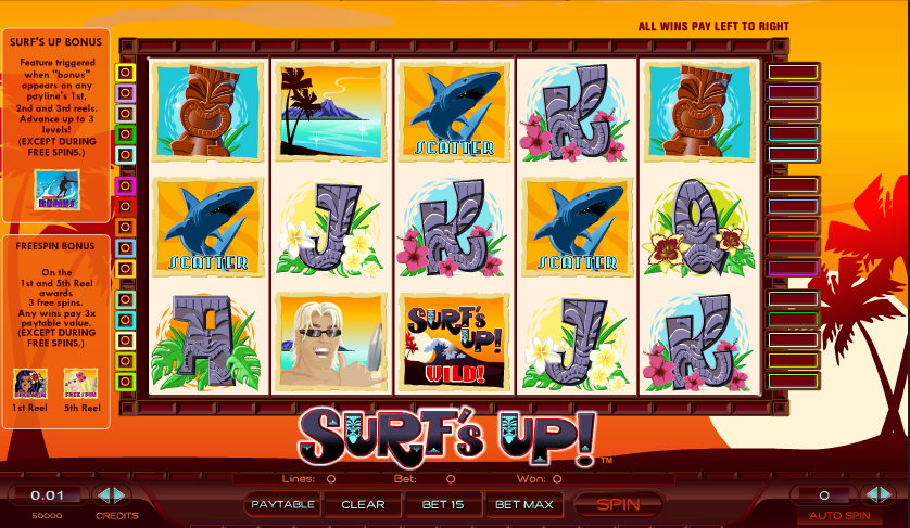 surfs up slot review