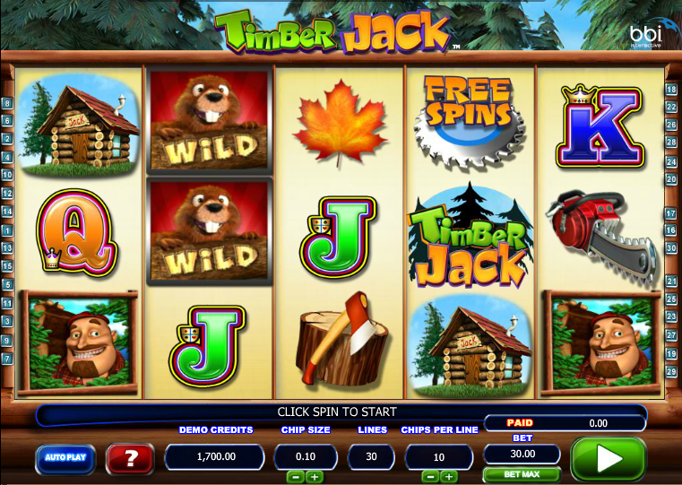 timber jack slot review
