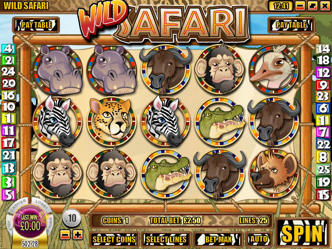 wild safari slot review