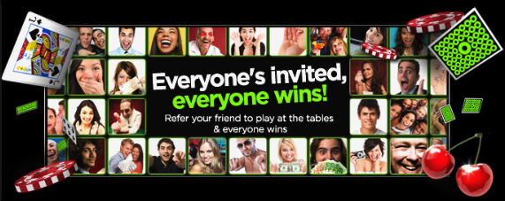 888 casino friend offer