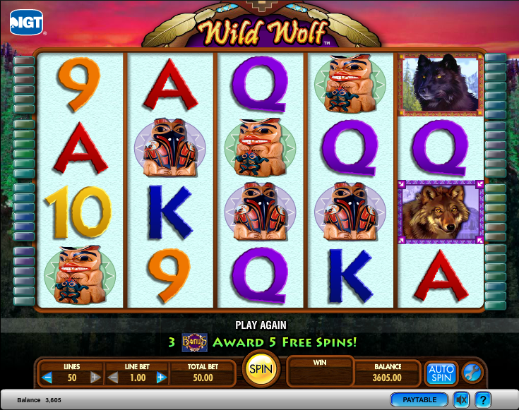 Werewolf Wild Slots - Free Play & Real Money Casino Slots