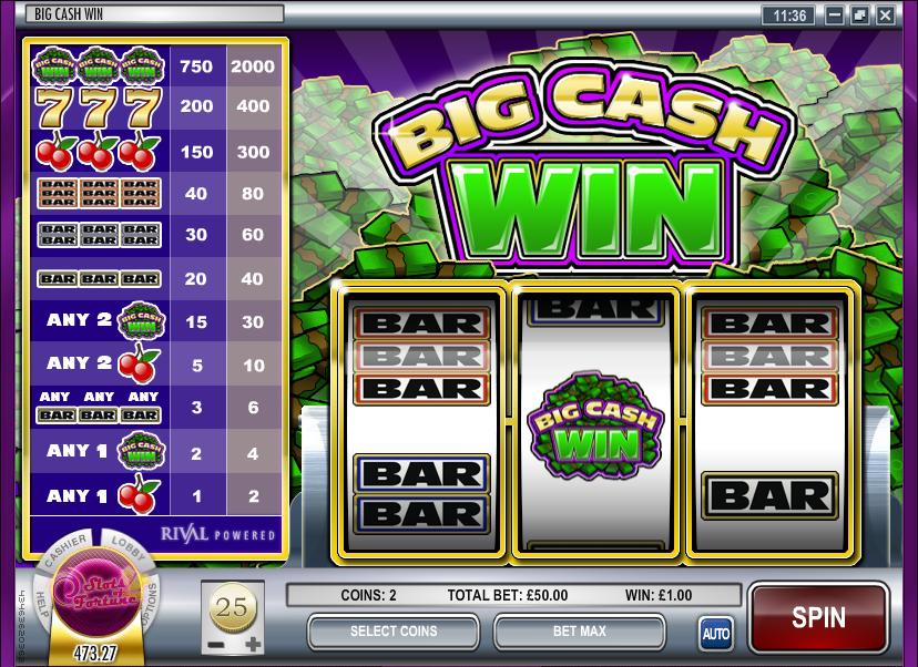 Win Cash Slots