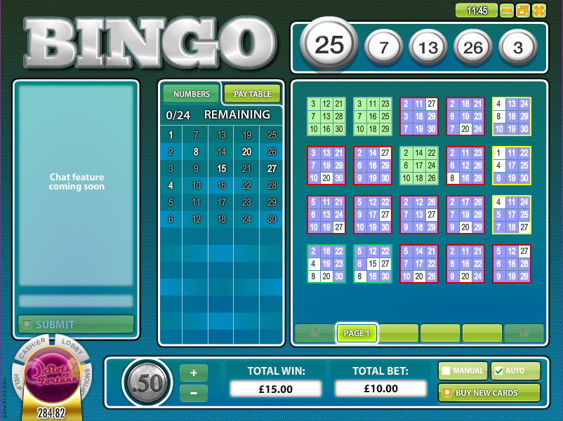 Bingo Cup - Review & Play this Online Casino Bingo Game