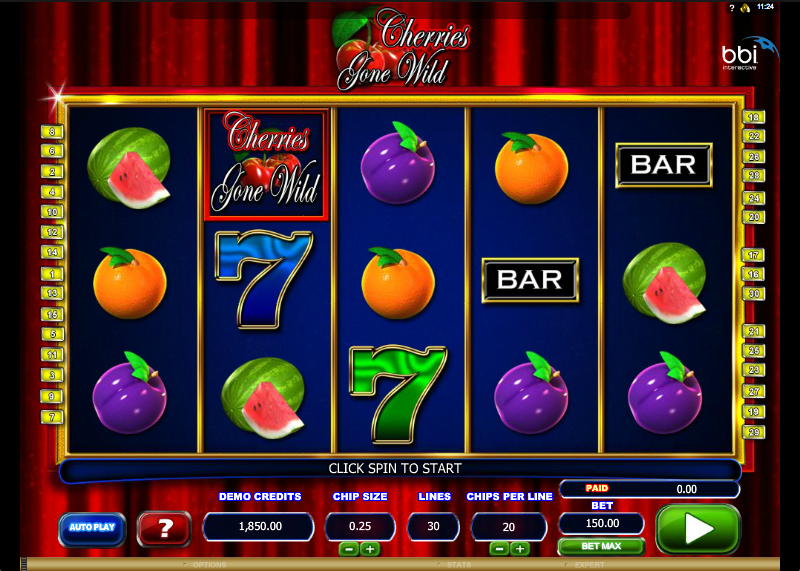 cherries gone wild slot review