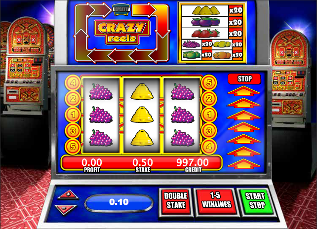 crazy reels slot review